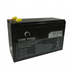 AG12V75ASAF BAT. DE  GEL 12V 7,5A SAFETY ENERGY