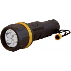 185109 WATERPROOF LINTERNA 3 LED 2 PILAS D PLASTICA