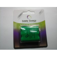 SAFAAX3 BAT.TEL.INAL.AA X 3 CONECTOR UNIV 3,6V 700MA  NH SAFETY