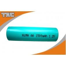 SAFAA1500 PILA CILIND.FLAT AA 1,2V  1500MA NI-MH