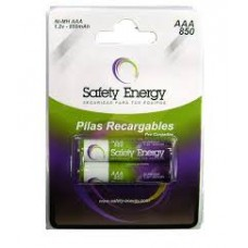 SAFAAA852 AAA X 2 SAFETY RECARGABLE 850MAH NIMH