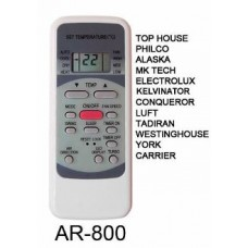 AR800 REMOTO AIRE CARCASA ORIGINAL PHILCO, TOP HOUSE