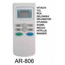 AR806 REMOTO AIRE CARCASA ORIGINAL HITACHI, TCL, RCA
