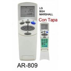AR809 REMOTO AIRE CARCASA ORIGINAL LG. BGH. MARSHALL