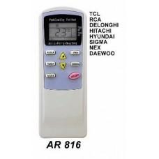 AR816 REMOTO AIRE CARCASA ORIGINAL TCL, RCA, DELONGHI