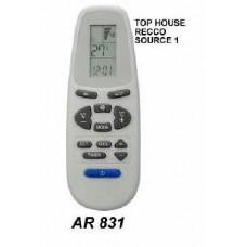 AR831 REMOTO AIRE CARCASA ORIGINAL TOP HOUSE, RECCO