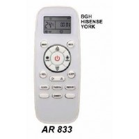 AR833 REMOTO AIRE CARCASA ORIGINAL BHG, HISENSE