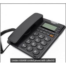AS6408 TELEFONO MESA PARED MANOS LIBRES IDENTIFICADOR NUMEROS GRANDES