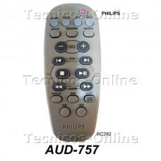 AUD757 REMOTO AUDIO PHILIPS