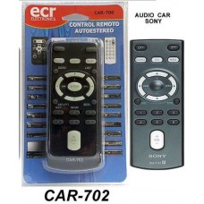 CAR702 REMOTO DE AUDIO PARA  AUTO SONY