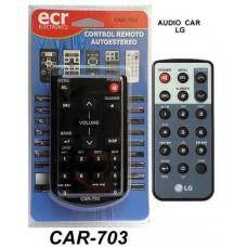 CAR703 REMOTO DE AUDIO PARA  AUTO LG
