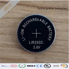 CR2032 RECARG 3,7 V LITIO