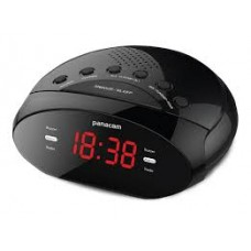 CR3401 RADIO RELOJ PARANACOM AM FM
