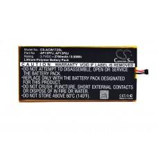 ACW172SL BATERIA TABLET ACER 3,7V 2700MAH