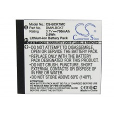 BCK7MC BAT. P/ PANASONIC LITIO-ION 3.7V 700 MAH