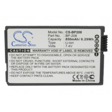 BP208 BAT. DE VID. P/ CANON LITIO-ION 7.4V 850MAH
