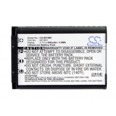 BX1MC BAT. P/ SONY LITIO-ION 3.7V 950 MAH