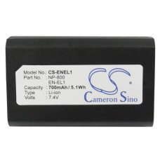 ENEL1 BAT. P/ NIKON LITIO-ION  7.4V 700 MAH