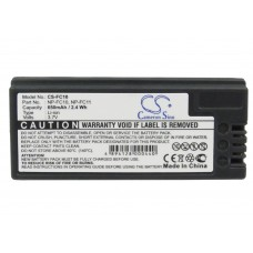 FC10 BAT. P/ SONY LITIO-ION 3.7V 650 MAH