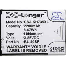 LKH735XL BL-49SF 3,7V 2200MAH