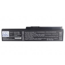 TOL700NB BAT.NOT.TIPO TOSHIBA  10,8V / 4400MAH / 6 CELDAS / LITIO-ION