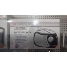 DRP38 RADIO RELOJ DAIHATSU