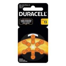 DU13 PILA AUDIOLOGIA 1,4V DURACELL BLISTER X 6
