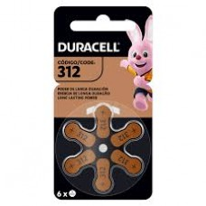DU312 PILA AUDIOLOGIA 1,4V DURACELL BLISTER X 6