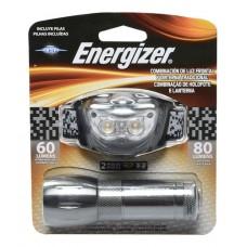 EMHDML32E LINTERA MINERO ENERGIZER + LINTERNA DE MANO LED