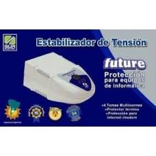 ER1000 ESTABILIZADOR 1000VA, FUTURE, 6/220W, PROTECCION INTERNET