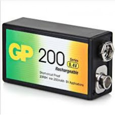 GP9V BATERIA RECARGABLE. 9V GP 200MAH