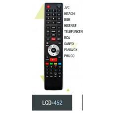 LCD452 CONTROL REMOTO PARA LCD SMART JVC, HITACHI, BGH