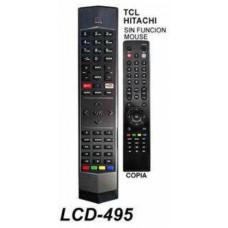 LCD495 CONTROL REMOTO PARA LCD SMART TCL HITACHI