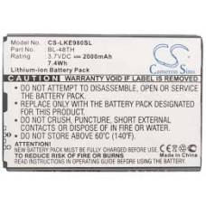 LKE980SL BAT. CEL. LG  3.7V 1100MAH / LITIO-ION
