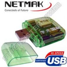LMEM LECT. DE MEM. MICRO/USB - TFLASH - MS/M2 - MMC - RS/MMC