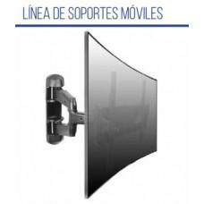 LPA32443 SOPORTE LCD DESDE 32 HASTA 55  MOVIL PARA LCD CURVOS BRATECK