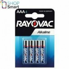 AAA X 4 RAYOVAC