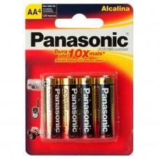 AA X 4 PANASONIC  ALCALINA