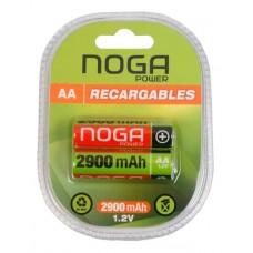 NGAA292 AA X 2 NOGA 2900MAH NI-MH