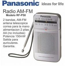 RFP50 RADIO PANASONIC DE PILAS AA X 2