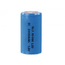SC2800SAF PILA CILIND.C/TETON SC  1,2V 3000MA NI-MH