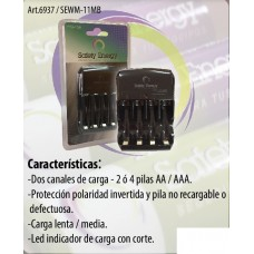 SEWM11MB CARG.  AA /  AAA  SAFETY ENERGY