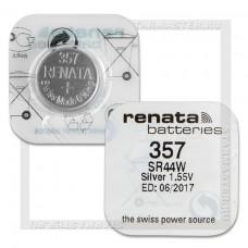 357 PILA RELOJERIA OXIDO DE PLATA 1,55V RENATA