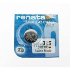 315 / 716 PILA RELOJERIA OXIDO DE PLATA 1,55V RENATA