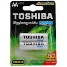 PILA  RECARGABLE TOSHIBA  AA 2000