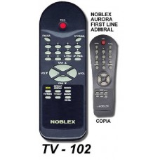 TV 102 ONTROL REM. SIMIL ORIGINAL NOBLEX