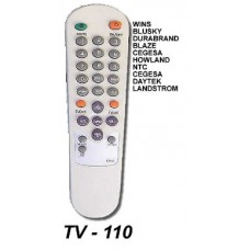 TV 110 ONTROL REM. SIMIL ORIGINAL WINS, DURABRAND