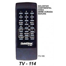 TV 114 ONTROL REM. SIMIL ORIGINAL GOLDSTAR