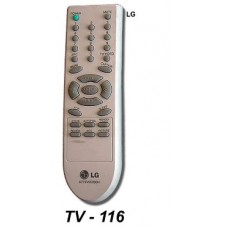 TV 116 ONTROL REM. SIMIL ORIGINAL LG
