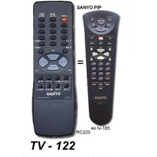 TV 122 ONTROL REM. SIMIL ORIGINAL SANYO